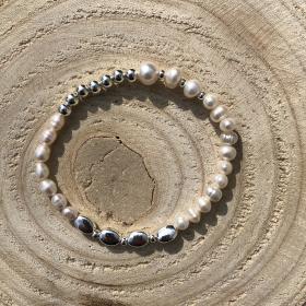 Kady Perlový náramok z pravých riečnych perál