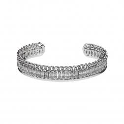 Náramok Zircon Crystals Silver