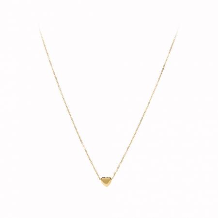 Náhrdelník Stainless Steel Mini Heart Gold