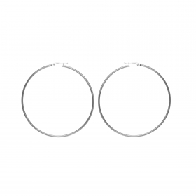 Náušnice Stainless Steel Big Hoop Earring