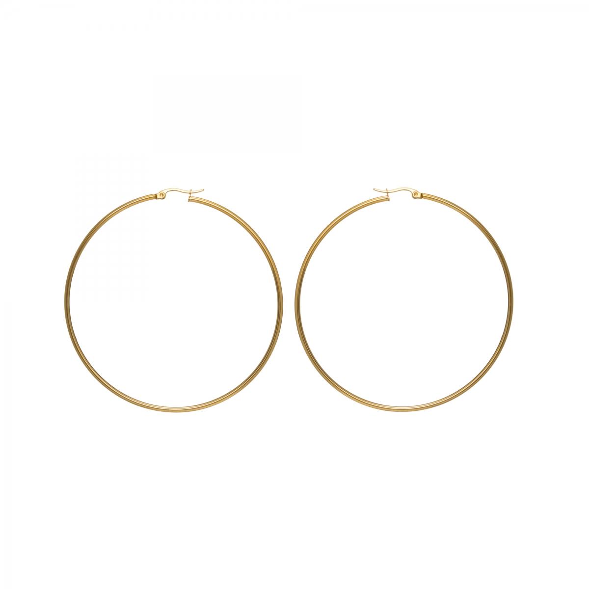 Náušnice Stainless Steel Mini Hoop Earring Gold