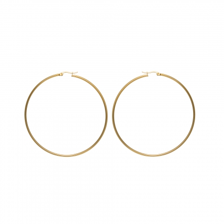 Náušnice Stainless Steel Mini Hoop Earring Gold