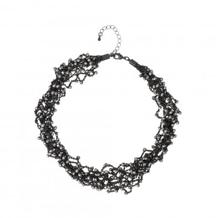 Náhrdelník Dea Hematit Crystal Beads