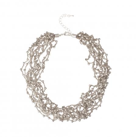 Náhrdelník Dea Silver Crystal Beads