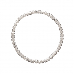 Náramok Style Chic Silver Metal Elastic