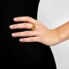 Prsteň Chain Gold Elastic
