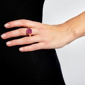 Prsteň Queen pink