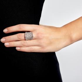 Prsteň Infinity Silver Zircon