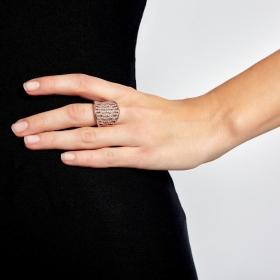 Prsteň Infinity Rosegold Zircon