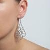Náušnice Fine Elegance Swarovski Crystal Silver