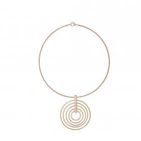 Náhrdelník Spiral Gold Choker