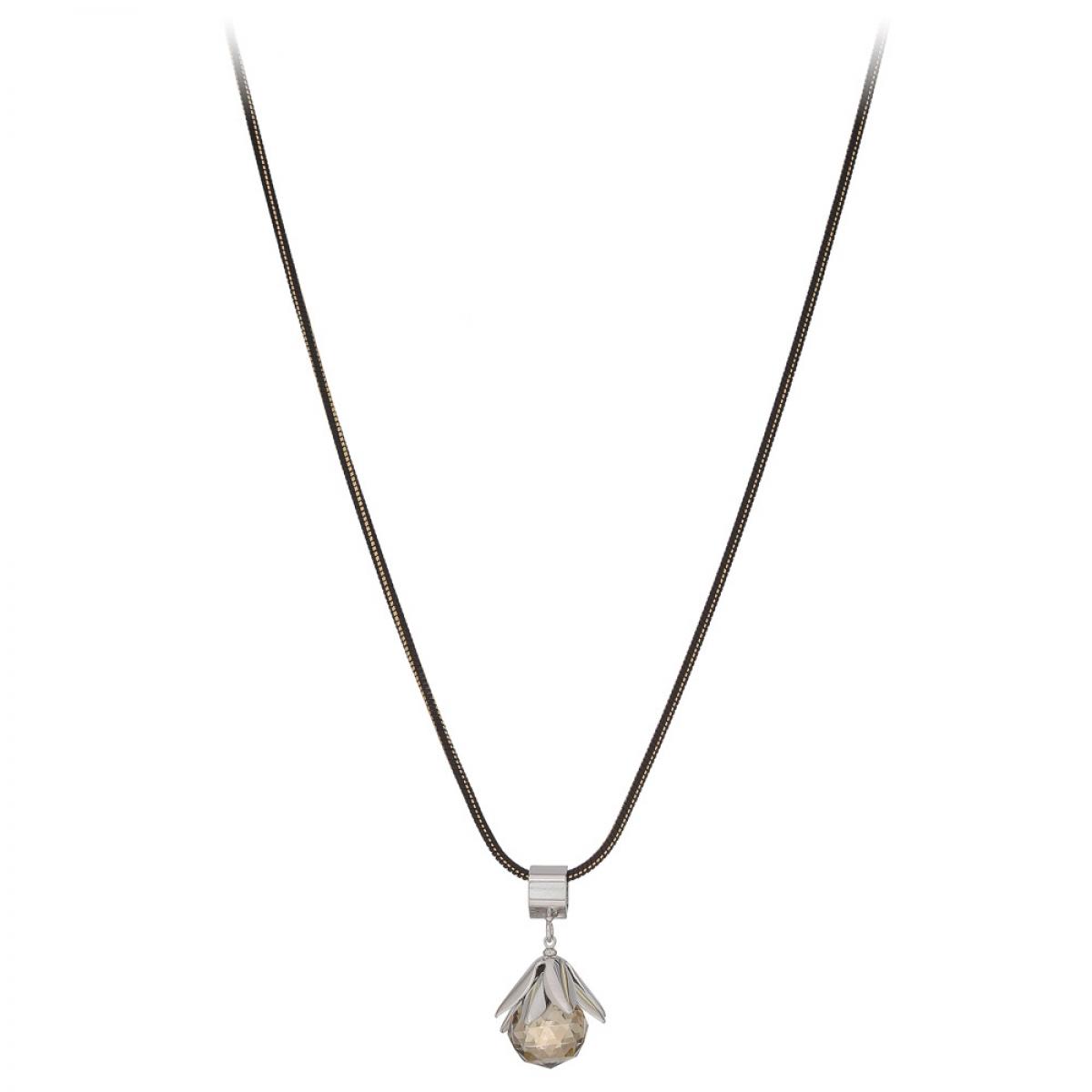 Náhrdelník Grey Crystal