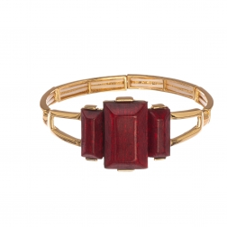 Náramok Luxury Red Gold Elastic
