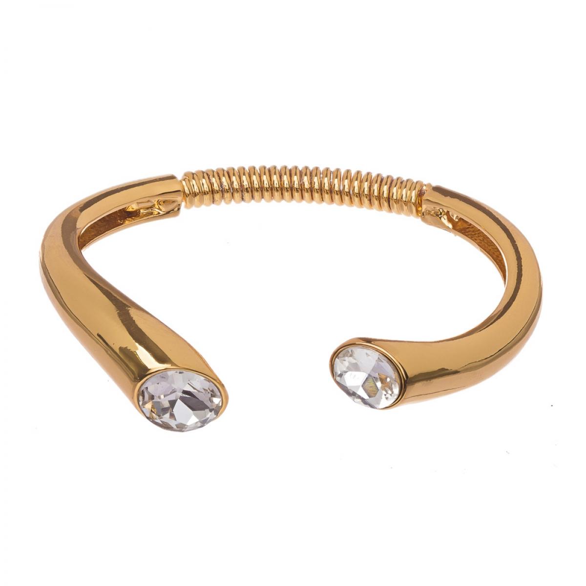 Náramok Snake Gold Crystal