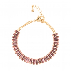 Náramok Lines Luxury Pink Gold
