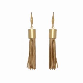 Náušnice Stripe Hook Gold