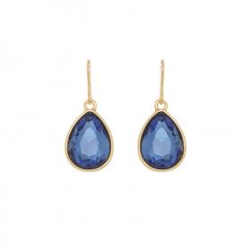 Náušnice Blue Stone Drop