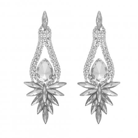 Náušnice Romantik Heart Rosegold Swarovski Crystal  2e31f0e4e7d