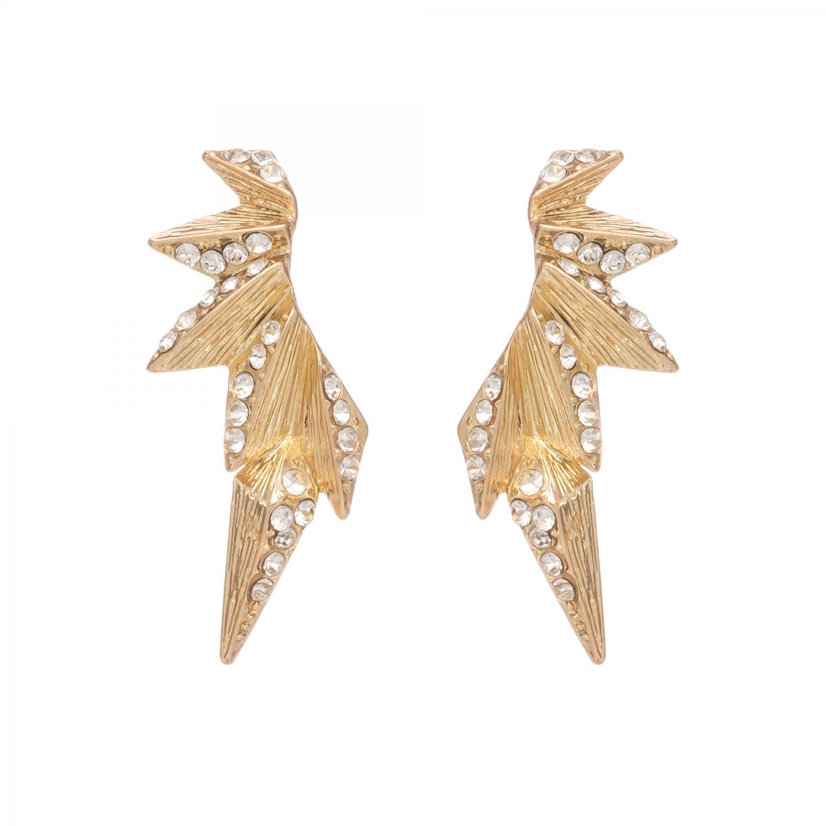 Náušnice Style Chic Gold