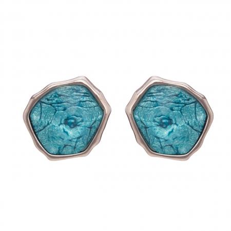 Náušnice Mimi Turquoise Stone Silver