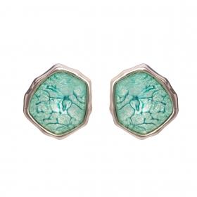 Náušnice Mimi Aqua Stone Silver
