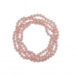 Náhrdelník Long Pearl Light Pink