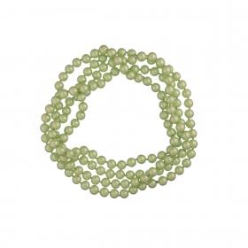 Náhrdelník Long Pearl  Light Green