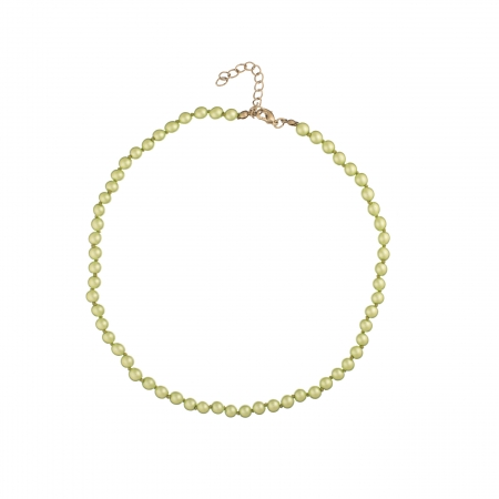 Náhrdelník Midi Light Green Pearl