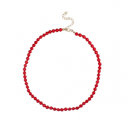 Náhrdelník Midi Red Pearl