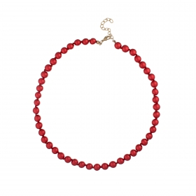 Náhrdelník Classic Red Pearl