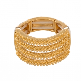 Prsteň Simply Gold Elastic