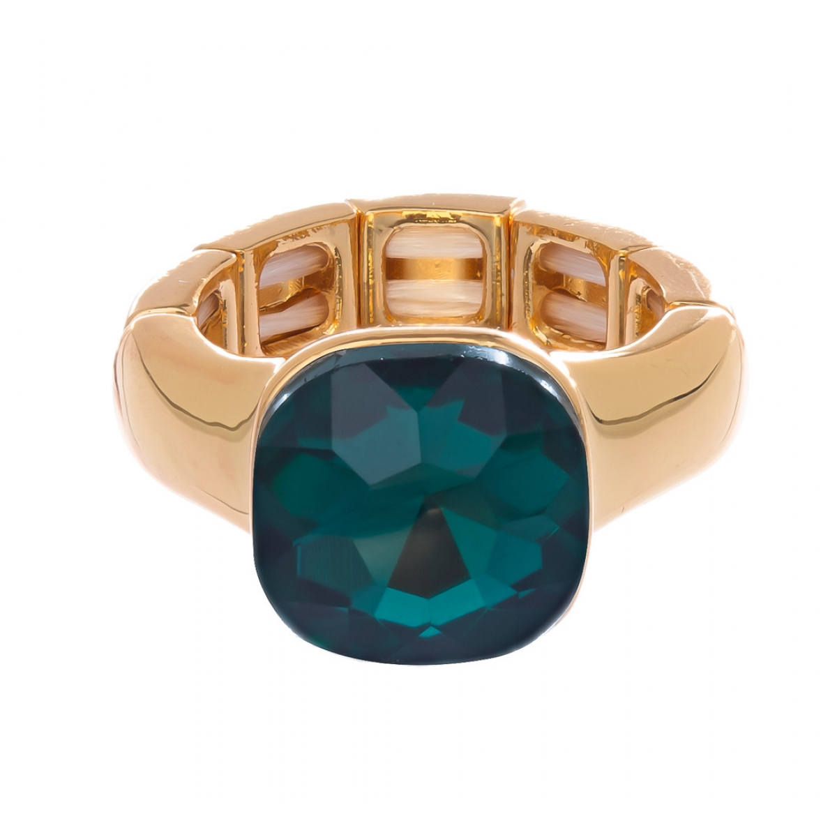Prsteň Queen green