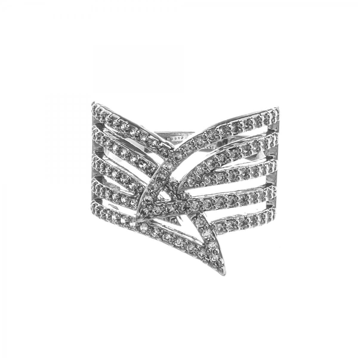 Prsteň Galaxy Silver Zircon