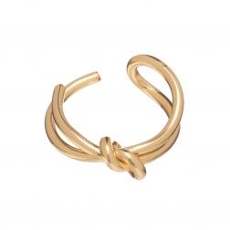 Prsteň Minimalistic Modern Gold Metal