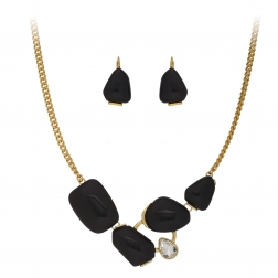 Súprava Modern Fashionable Black Gold