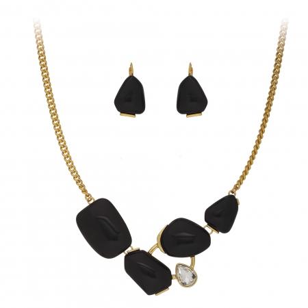 Súprava Modern Fashionable Black Gold